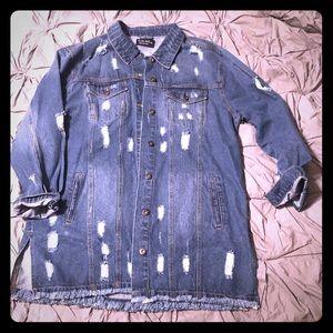 Boutique Blue Jean Jacket